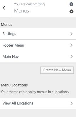 create a mega menu